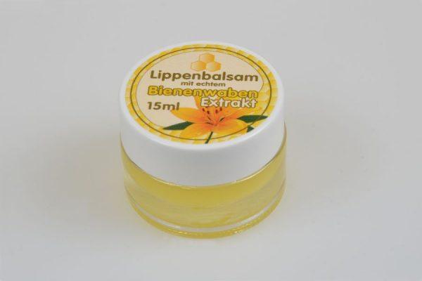 Lippenbalsam aus echtem Bienenwabenextrakt 15 ml