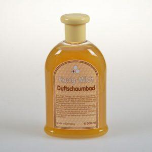Milch-Duftschaumbad mit Honig