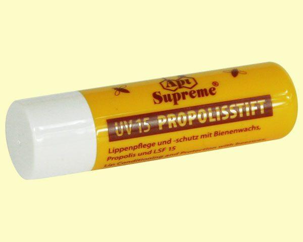 Der Propolisstift API UV LSF 15 ist immer dabei!