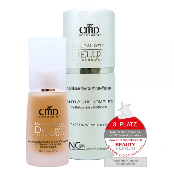 CMD Natural Serum Deluxe mit Hyaluron & Seide