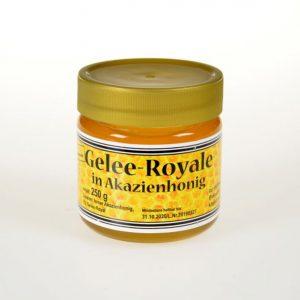 Gelee-Royale in Akazienhonig